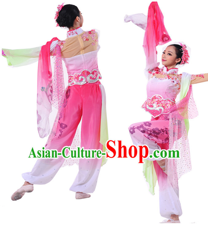 Chinese Women Folk Dance Costumes Dancewear Discount Dane Supply Clubwear Dance Wear China Wholesale Dance Clothes