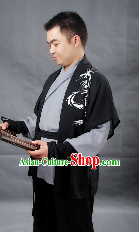 Chinese Men Hanfu Costume Ancient Costume Traditional Clothing Traditiional Dress Clothing online
