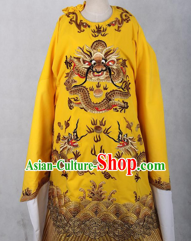 Embroidered Chinese Dragon Robe Costume Opera Costumes Chinese Clothing Opera Mask Cantonese Opera Chinese Culture Chinese Dance