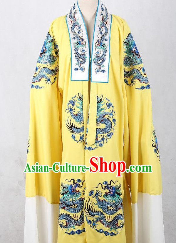 Embroidered Chinese Dragon Robe Opera Costumes Chinese Clothing Opera Mask Cantonese Opera Chinese Culture Chinese Dance