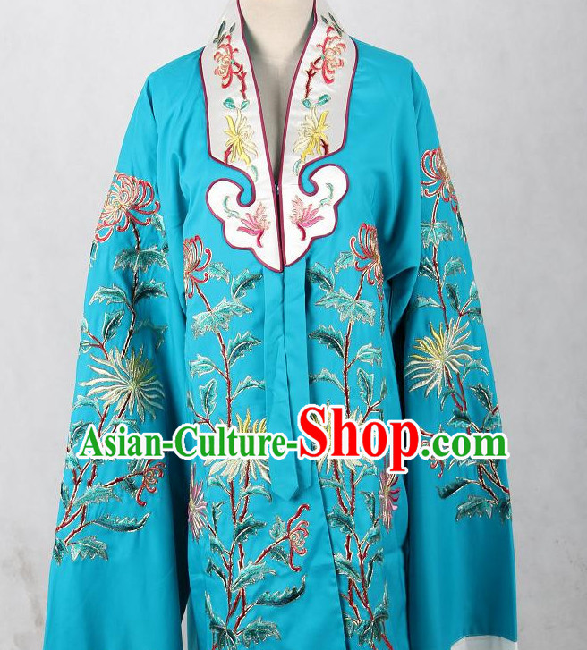 Embroidered Chinese Robe Opera Costumes Chinese Clothing Opera Mask Cantonese Opera Chinese Culture