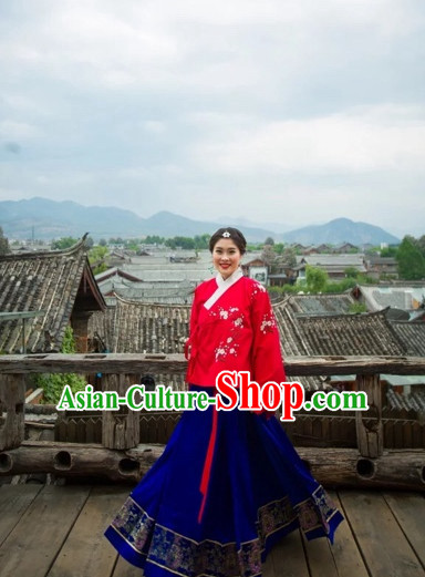 Chinese Ming Dynasty Clothes for Women