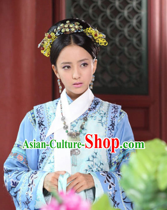 Qing Dynasty Princess Hair Jewelry Hairpins Hair Accessories