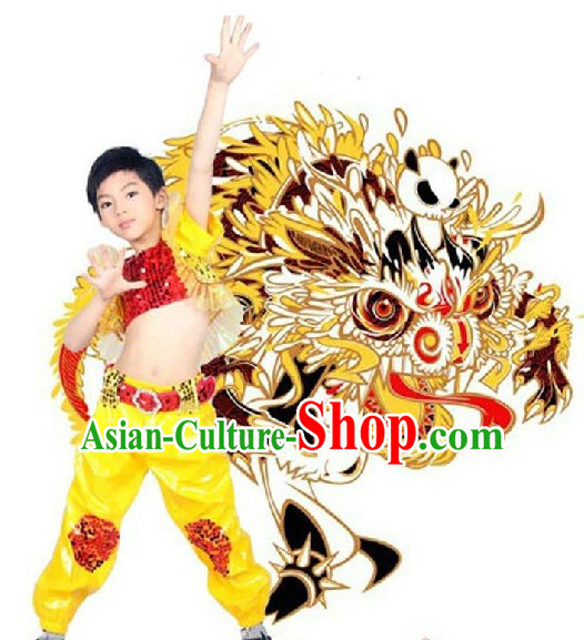 Chinese Dragon Dancer Dance Costume Competition Dance Costumes