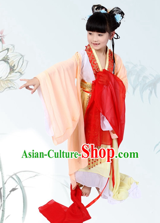 Chinese Halloween Costumes for Kids Baby Hanfu Clothes Toddler Halloween Costume Kids Clothing