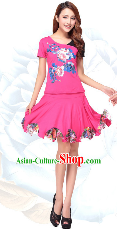 Chinese Style Parade Modern Costume Ideas Dancewear Supply Dance Wear Dance Clothes Suit