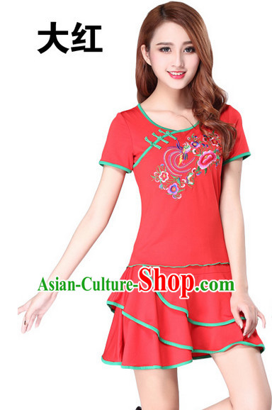 Chinese Style Gymnastics Dance Costume Ideas Dancewear Supply Dance Wear Dance Clothes Outfits