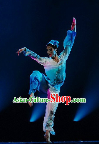 Chinese Classical Dance Costume Complete Set for Men