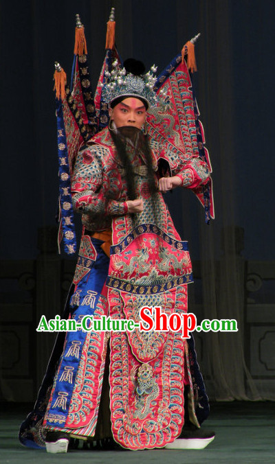 Chinese Opera Wu Sheng Armor Suits