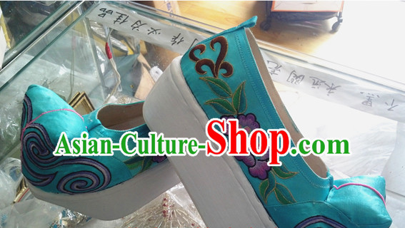 Chinese Opera High Heel Opera Shoes