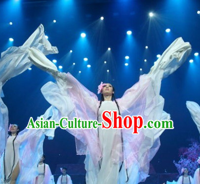 Chinese Fairy Dancing Outfits for Women