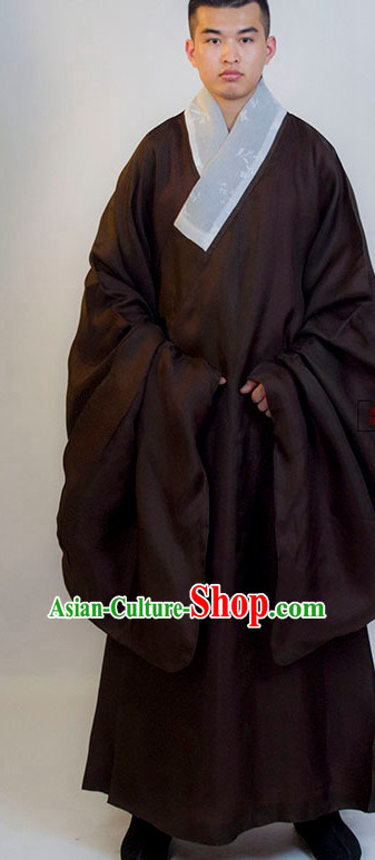 Ming Dynasty Chinese Classical Dancer Clothing Complete Set for Men