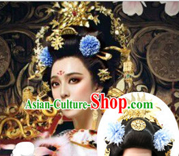 Ancient Chinese Empress Hair Jewelry and Wigs
