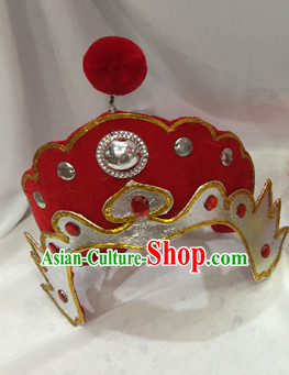 Traditional Chinese Opera Hua Mulan Hat for Women