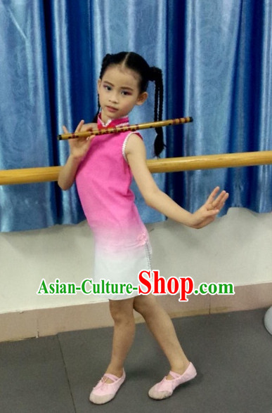 Traditional Chinese Classical Group Dance Costumes for Women or Kids
