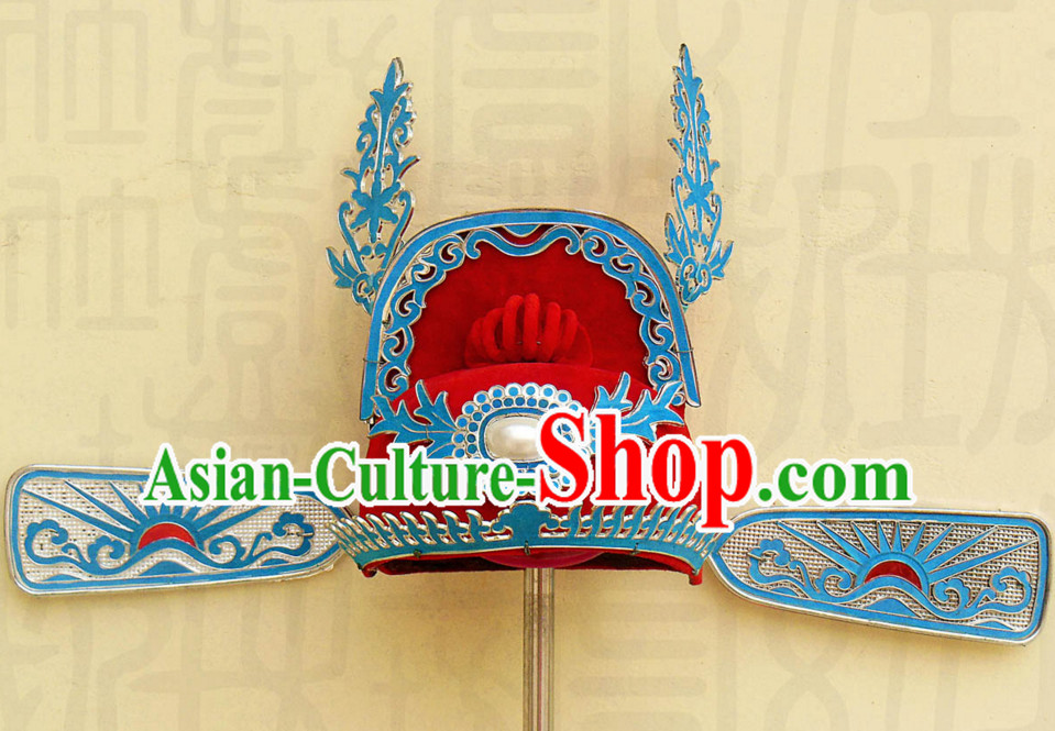 Traditional Chinese Classica Opera Bridegroom Hat for Men