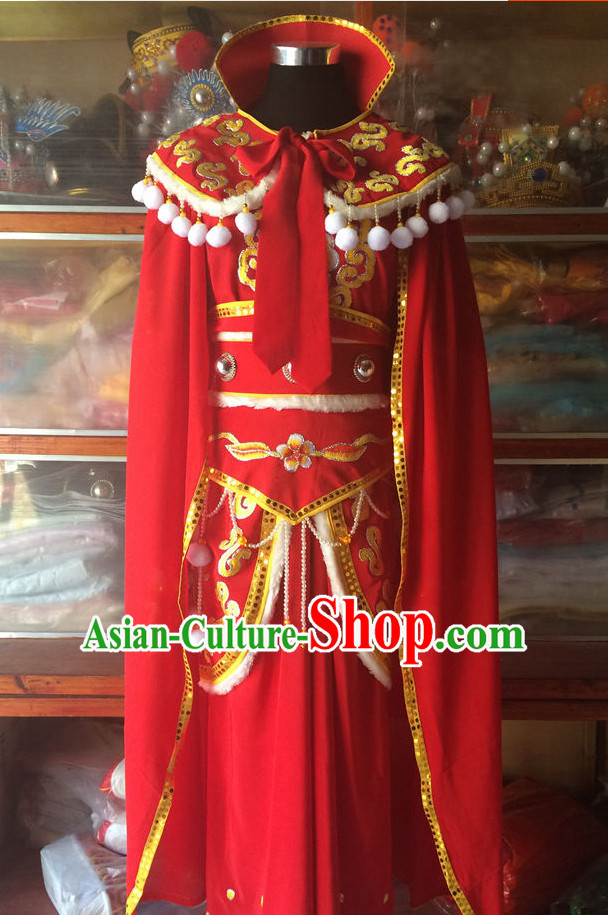 Ancient Chinese Opera Embroidered Princess Costumes Complete Set for Women
