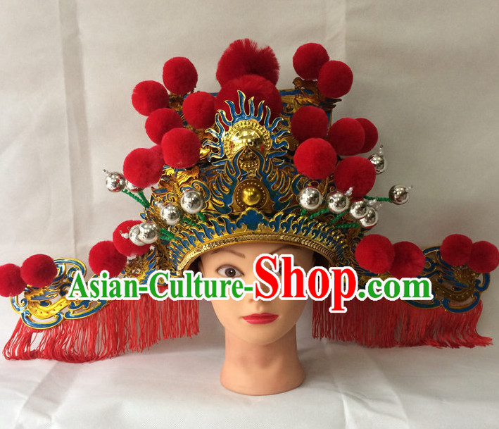 Traditional Chinese Classical Opera Cai Shen Hat for Men