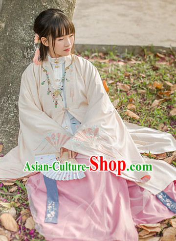 Chinese Style Dresses Hanfu Clothing for Sale