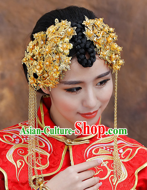 Traditional Chinese Princess Brides Wedding Headwear