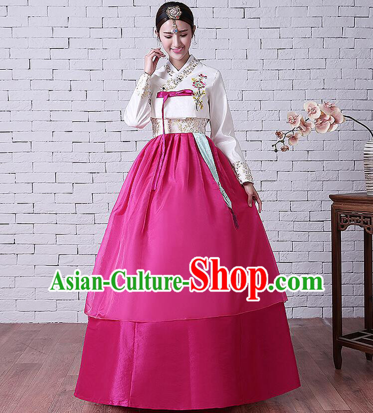 Korean Traditional Costumes Ancient Clothes Wedding Dress Korean Full Dress Formal Attire Ceremonial Dress Court Stage Dancing