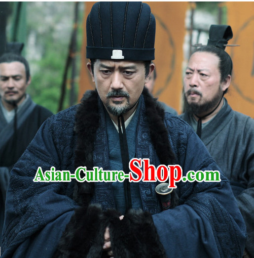 Chinese Ancient Stage Performance Prime Minister Hat Headdress