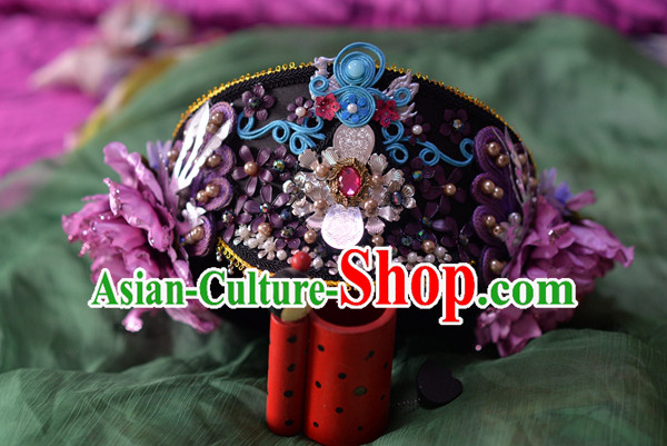 Chinese Ancient Style Hair Jewelry Accessories, Hairpins, Headwear, Headdress, Hair Fascinators, Qing Dynasty Imperial Empress Zhenhuan Handmade Phoenix Hair Accessories for Women