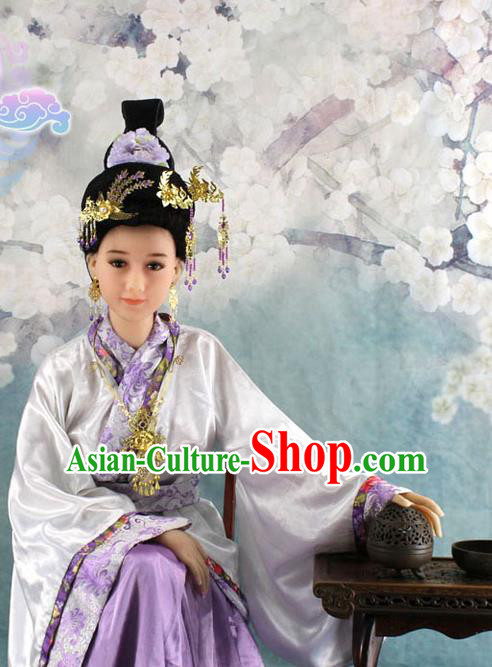 Chinese Ancient Style Hair Jewelry Accessories, Hairpins, Hanfu, Wedding Bride Imperial Empress Princess Handmade Phoenix for Women