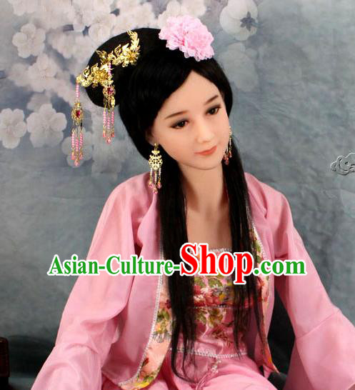 Chinese Ancient Style Hair Jewelry Accessories, Hairpins, Headwear, Headdress, Cosplay Hair Fascinators for Women