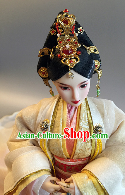 Ancient Chinese Princess Queen Empress Headwear Headpieces Hair Accessories Set