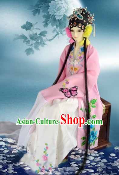 Ancient Han Chinese Opera Clothing Complete Set for Women