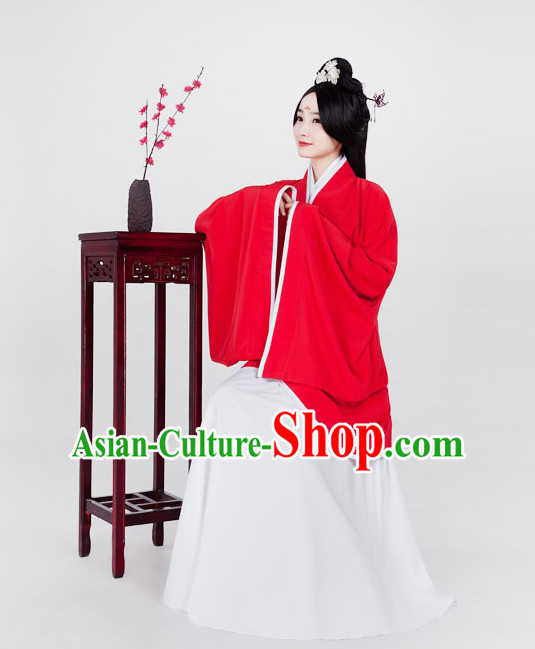 Ancient Chinese Classical Kimono Clothing Complete Set for Women