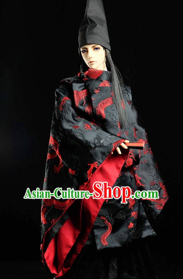 Japanese Traditional Kimono Clothes Complete Set for Men Boys Adults