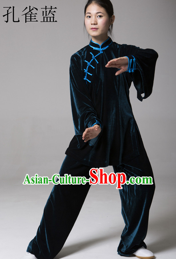 Top Kung Fu Competition Suits Kung Fu Gi Tai Chi Apparel Oriental Dress Wing Chun Apparel Taiji Uniform Chinese Kung Fu Outfit for Men Women Kids Adults