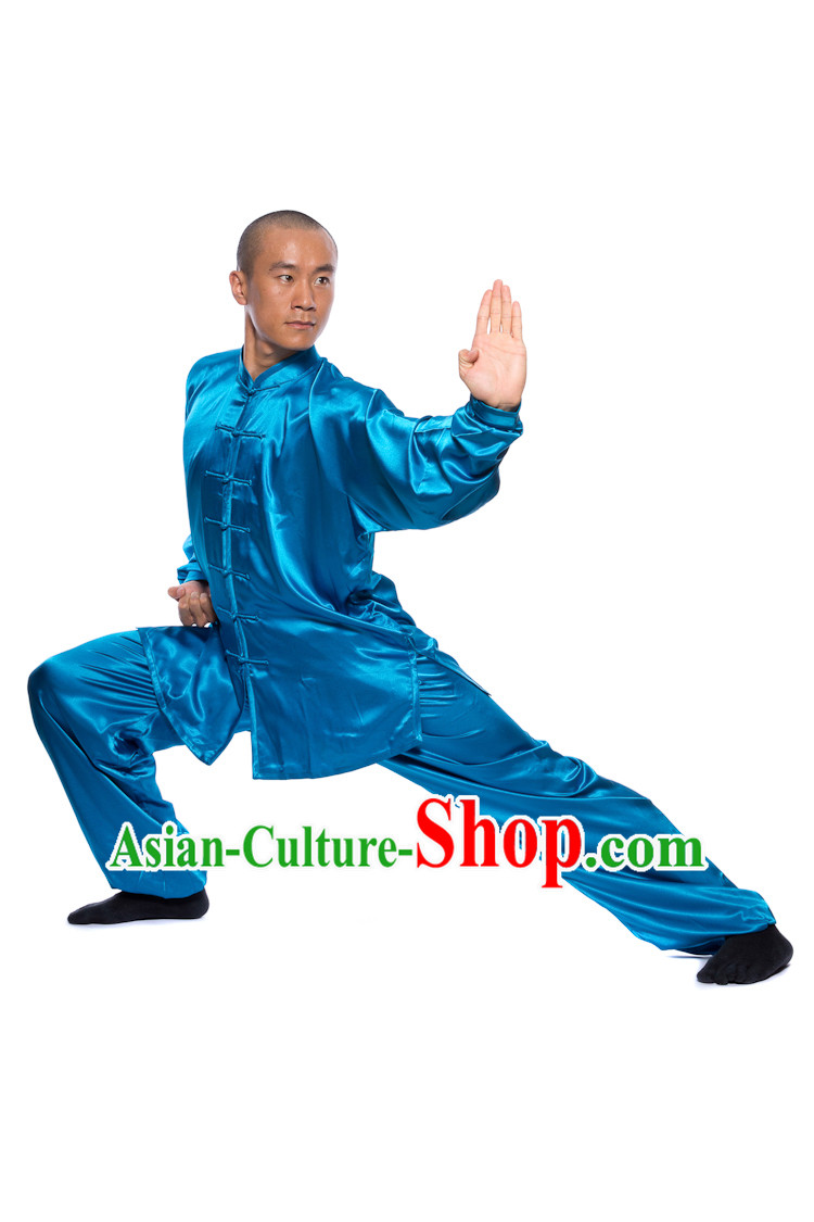 Chinese Traditional Kung Fu Martial Arts Practice and Competition Costume Wing Chun Apparel Taiji Tai Chi Uniform for Adults Children Men Women Boys Girls