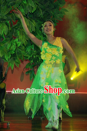 Professional Chinese Spring Folk Dance Costumes for Women Adults Kids
