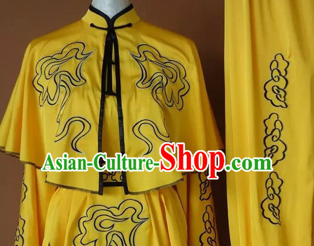 Embroidered Yellow Monkey Fist Houquan Competition Uniform Outfits