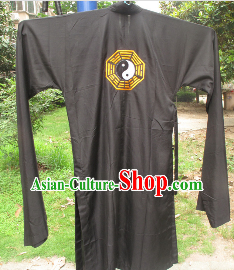 Chinese Wudang Taoist Robe for Men Women Adults Kids Children