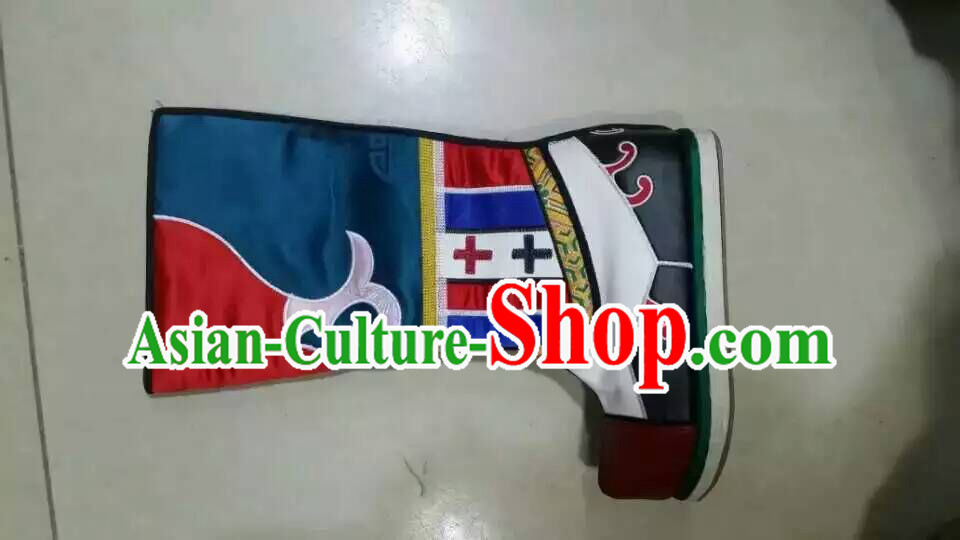 Traditional Chinese Ancient Handmade Boots for Men