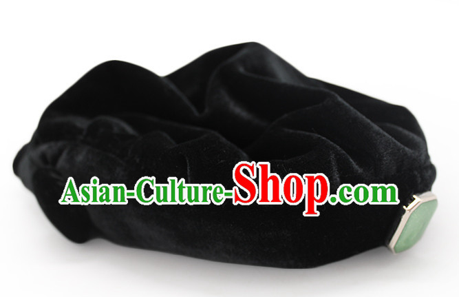 Top Handmade Classical Black Traditional Hat for Women or Girls