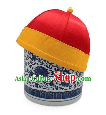 Top Handmade Classica Red Traditional Hat for Men