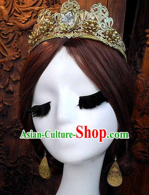 Top Handmade Imperial Royal European Hat for Queen