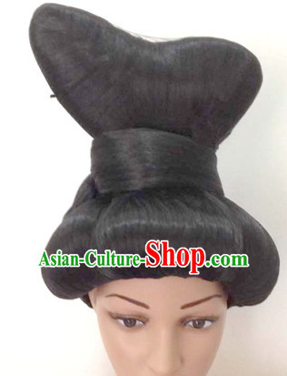 Chinese Ancient Lady Black Wig Wigs