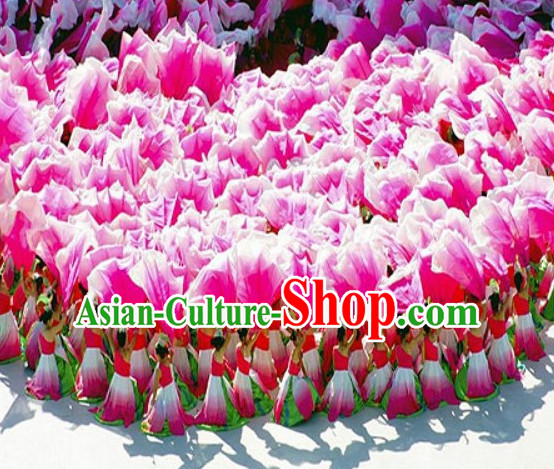 1.1 Meter Big Petal Dance Props Props for Dance Dancing Props for Sale for Kids Dance Stage Props Dance Cane Props Umbrella Children Adults