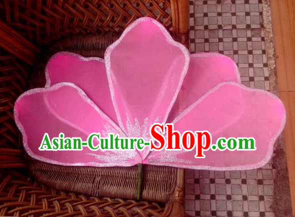 Pink Flagger Flower Dance Props Props for Dance Dancing Props for Sale for Kids Dance Stage Props Dance Cane Props Umbrella Children Adults