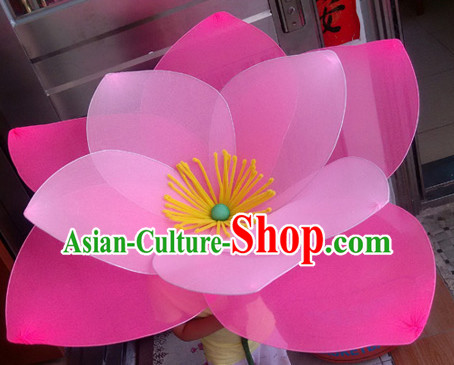 Handmade Lotus Flower Dance Props Props for Dance Dancing Props for Sale for Kids Dance Stage Props Dance Cane Props Umbrella Children Adults