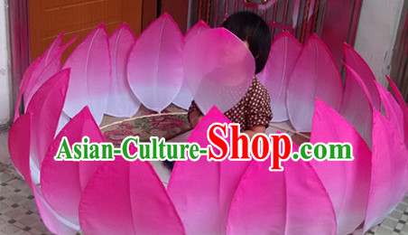 Big Handmade Lotus Base Dance Props Props for Dance Dancing Props for Sale for Kids Dance Stage Props Dance Cane Props Umbrella Children Adults