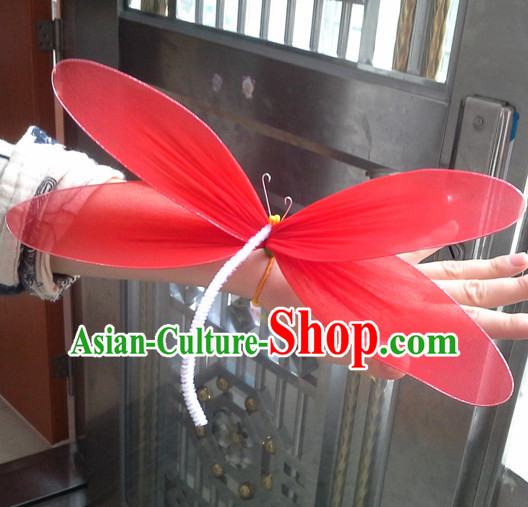 Beautiful Handmade Dragonfly Stage Performance Dance Props Dancing Prop Decorations