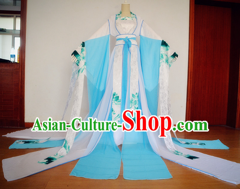 Ancient Chinese Hanfu Dress China Traditional Clothing Asian Long Dresses China Clothes Fashion Oriental Outfits for Women