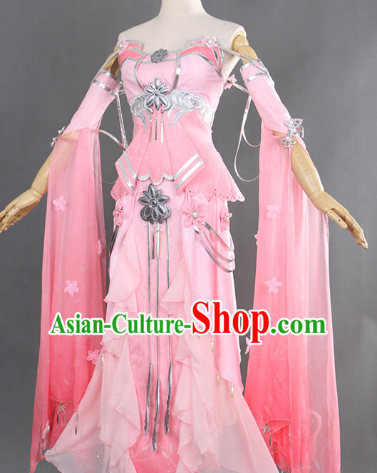 Ancient Chinese Style Cosplay Fairy Costumes for Women